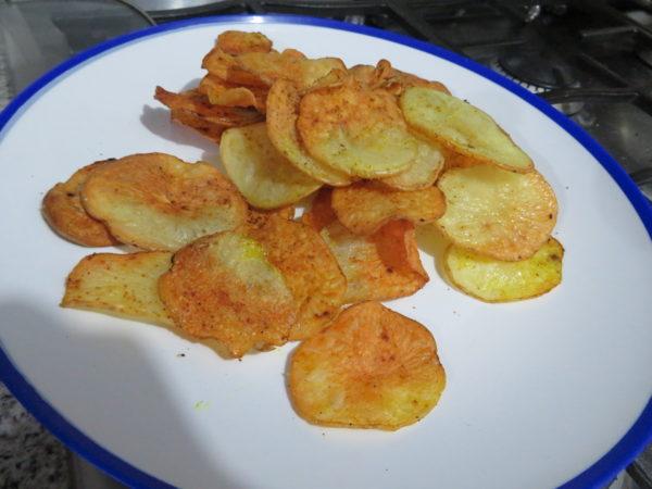 野菜チップス ヴィーガン オーブン ヘルシー おやつ アボカドオイル