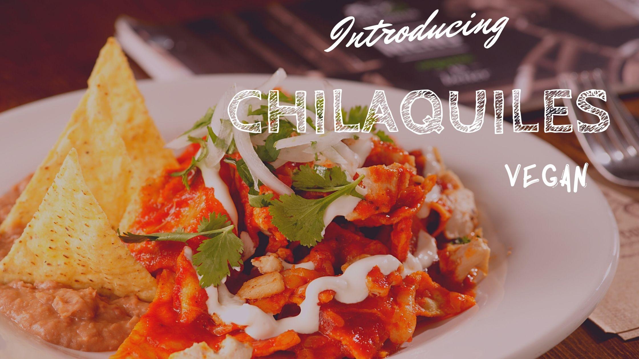 チラキレス メキシコ料理 レシピ ヴィーガン 朝ごはん メキシコ ヴィーガン サステイナブル