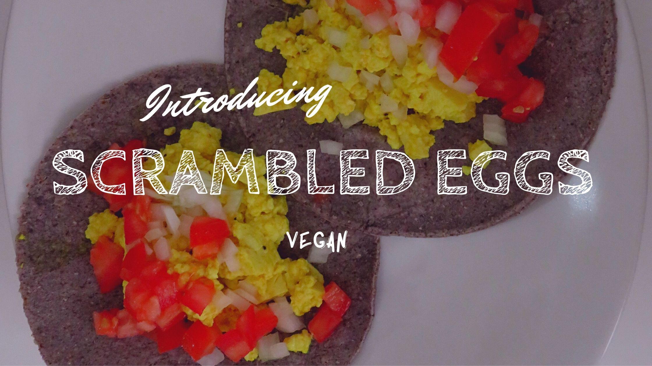 卵なしスクランブルエッグ 豆腐スクランブルエッグ タコス ヴィーガン