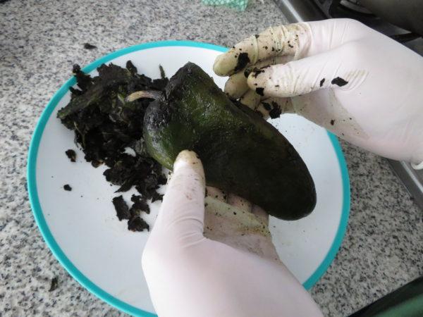 メキシコ チレスエンノガダ メキシコ料理 ヴィーガン Chiles en Nogada