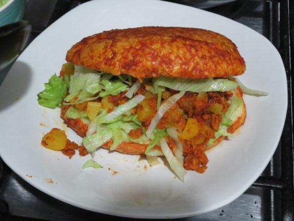 パンバソ メキシコ ヴィーガン ベジタリアン レシピ メキシコ料理 pambazo