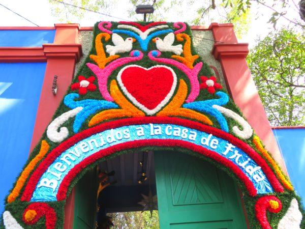 フリーダカーロ 博物館 美術館 メキシコ