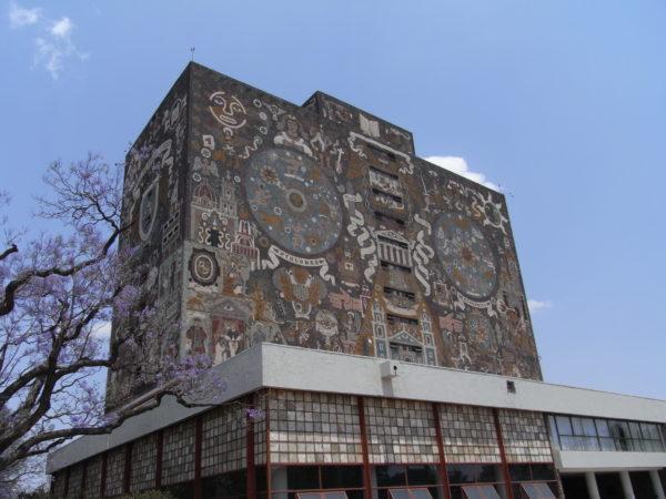 メキシコ国立大学 壁画 UNAM